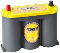 YTS2.1 (8018-356) Optima Yellow Top Dual Purpose Battery | Buy online from The Battery Shop